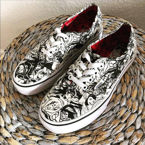 Vans Shoes | Vans Marvel Skate Shoes Sz